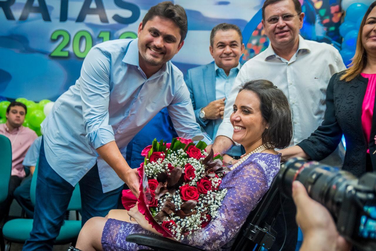 Andreia Rezende é homenageada pela força para superar mobilidade reduzida -  Maranhão Hoje