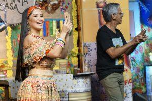 Os apresentadores Thaynara OG e João Marcos comandam a última live do Arraial Bumba Minha Casa nesta sexta